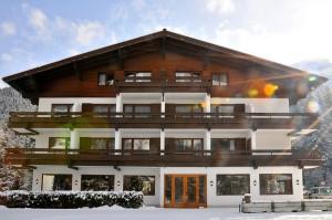 Winteransicht des Active Hotel Wildkogel im Pinzgau